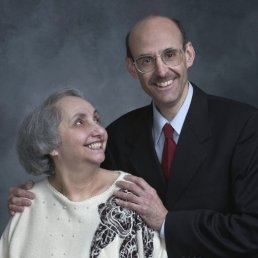 Ross Schriftman and his mother, Shirley