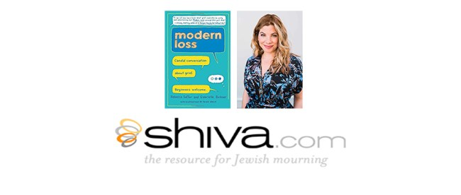 The April 3 Jewish Sacred Aging Radio show includes conversations about Shiva.com and Rebecca Soffer's book, Modern Loss