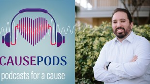 "Mathew Passy is host of ""CausePod,"" a podcast that features people working to make a difference in their communities."
