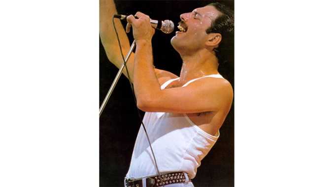 Freddie Mercury (Kentaro Takizawa photo via Flickr.com, Creative Commons 2.0 license)