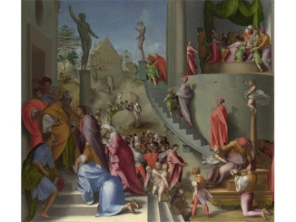 Pontormo, Joseph with Jacob in Egypt, probably 1518. National Gallery of Art, London