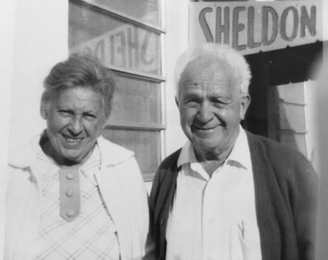 Grandma Dora and Grandpa Sol (Photo courtesy Sharon Siegel)