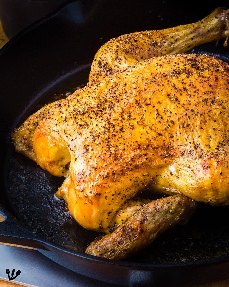 Best Roast Chicken Recipe Simple, Juicy & Crispy (Recipe) #VienneseKnobelBrathendl