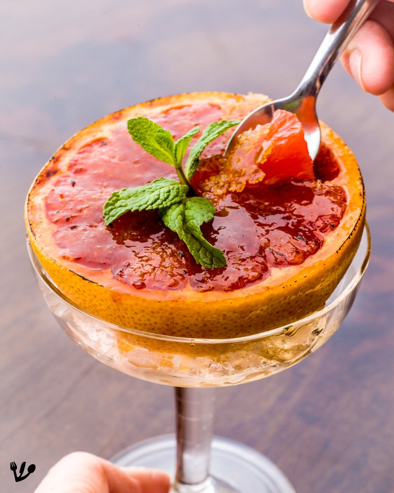 1980s Grapefruit Brûlée & Paul Gauguin's Caramelized Pamplemousse (Recipe) #SchönbrunnPalaceOrangery
