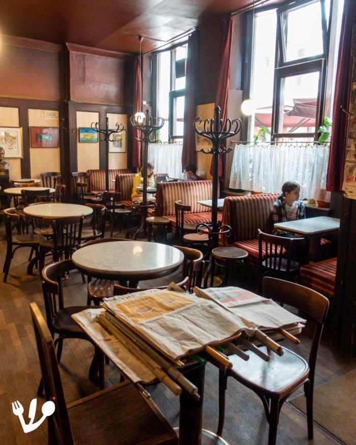 Café Hawelka coffeehouse Vienna