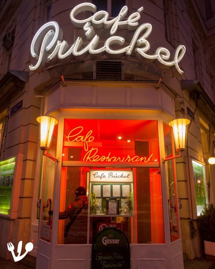 Café Prückel coffeehouse Vienna