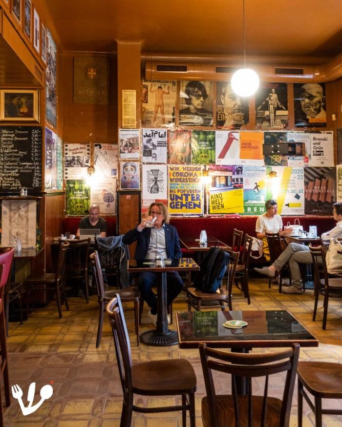 Kaffee Alt-Wien coffeehouse Vienna