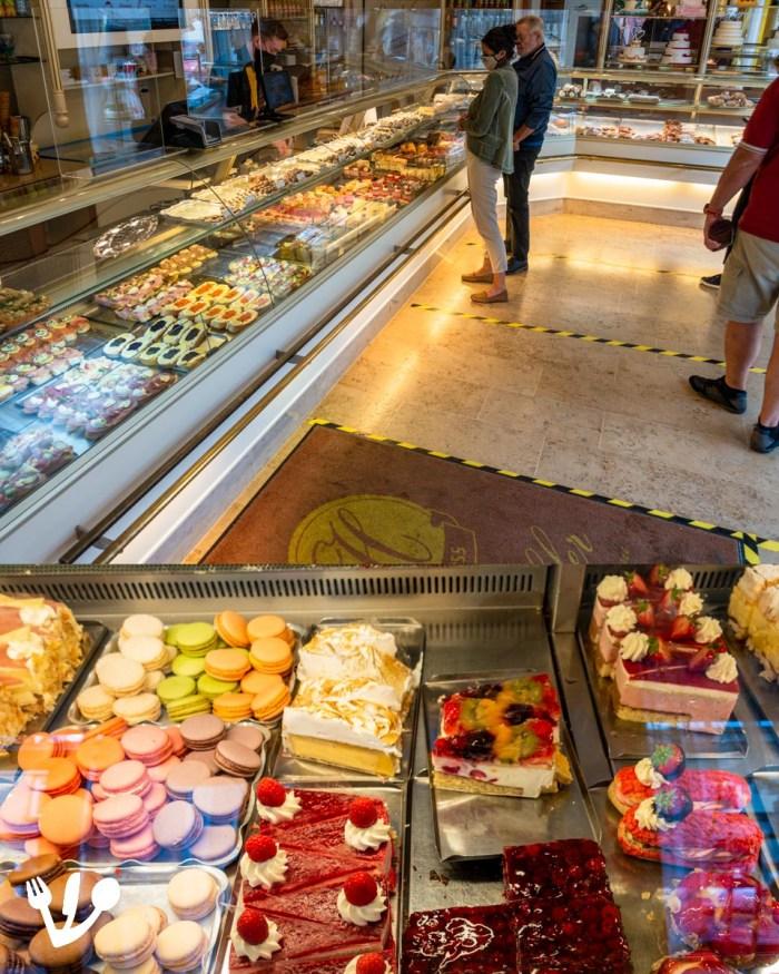 Konditorei Hübler pastry shop Vienna