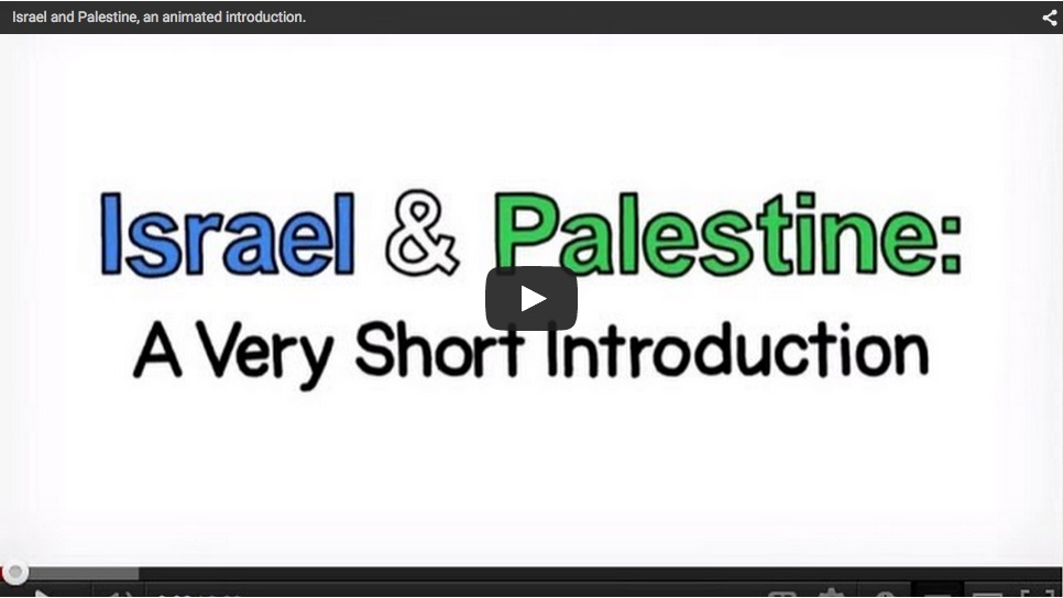 Israel Palestine Conflict 101