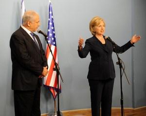Secretary Clinton with PM Netanyahu