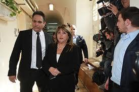 Shula Zaken with her Lawyer