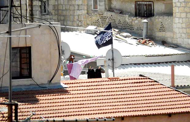 Jihad Flag Over Jerusalem