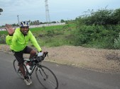 Bala, who gave me company for about 60km