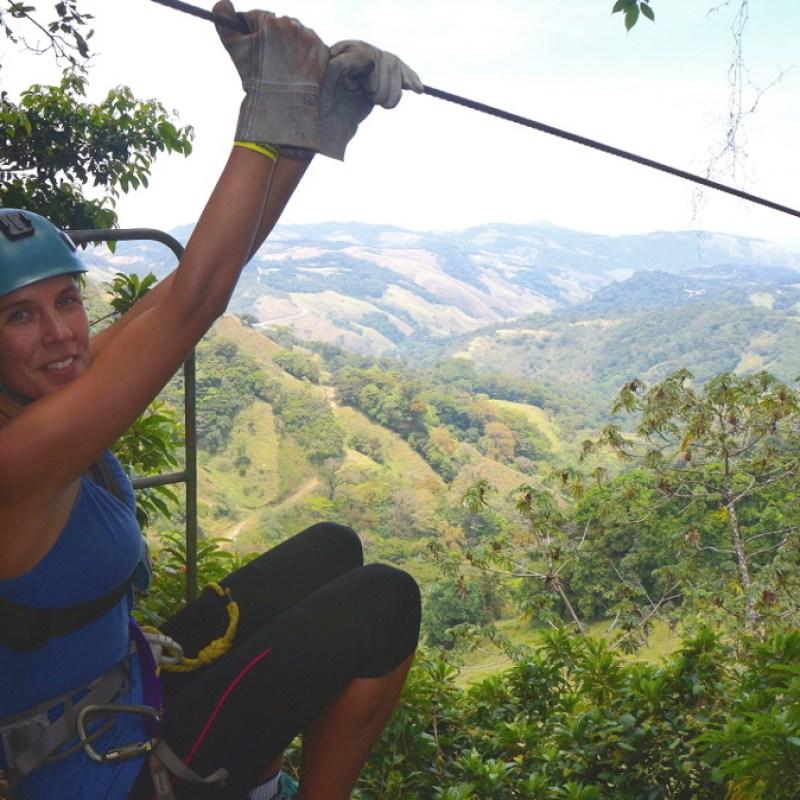 Zip Lining in Costa Rica's Monteverde