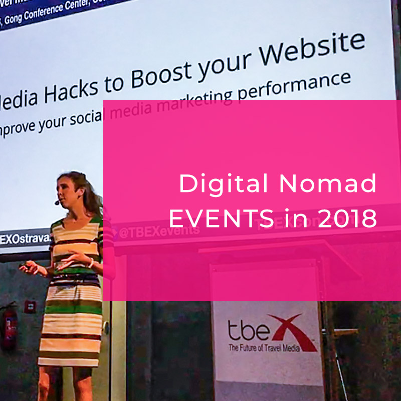 2018 Digital Nomad Events You Don't Want to Miss