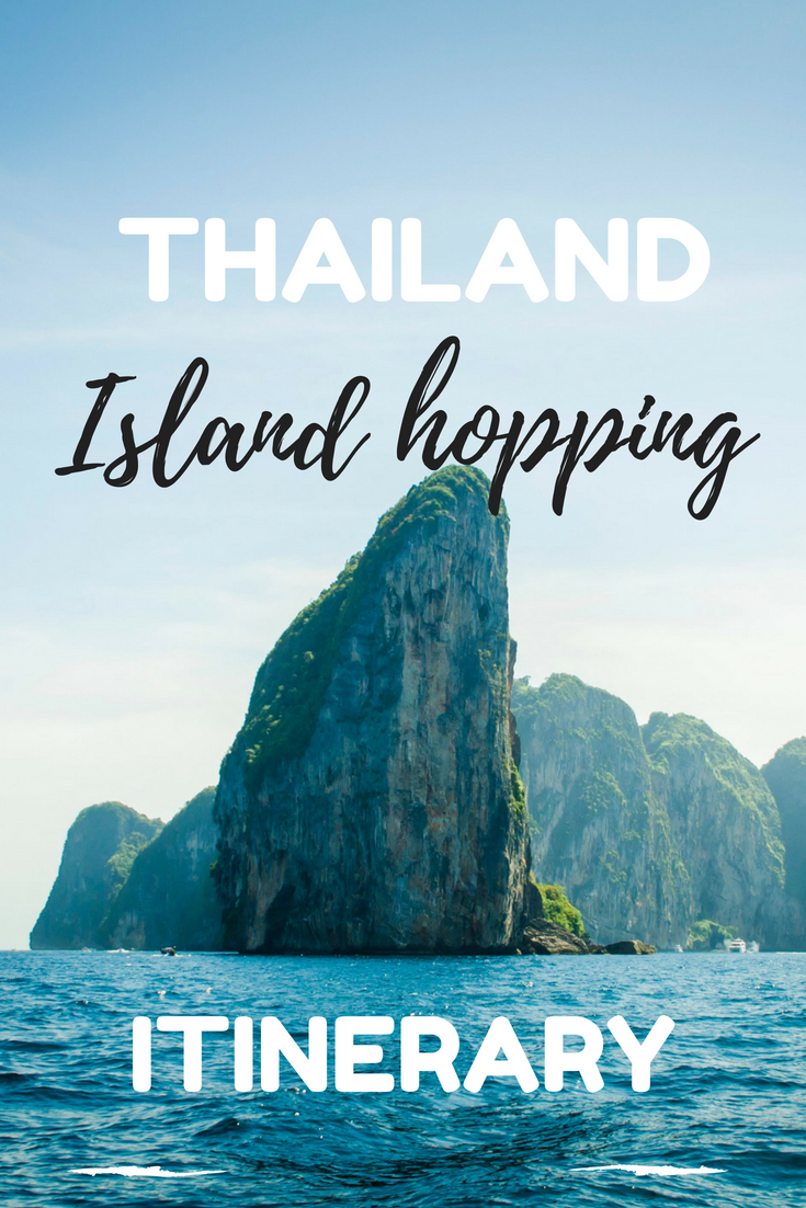 Ultimate Thailand itinerary for island hopping