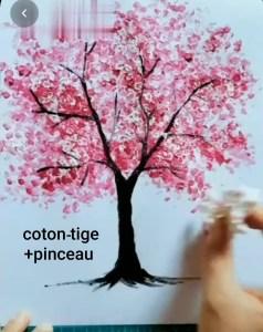 coton tige DIY