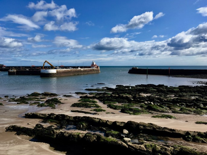 Arbroath outer Harbour by Jez Braithwaite