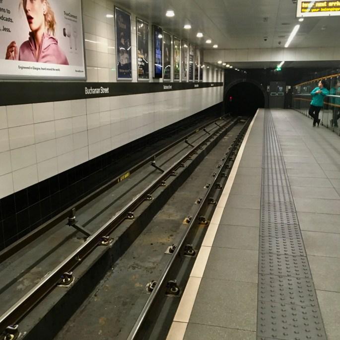 Buchanan Street Station -- Glasgow Subway by Jez Braithwaite