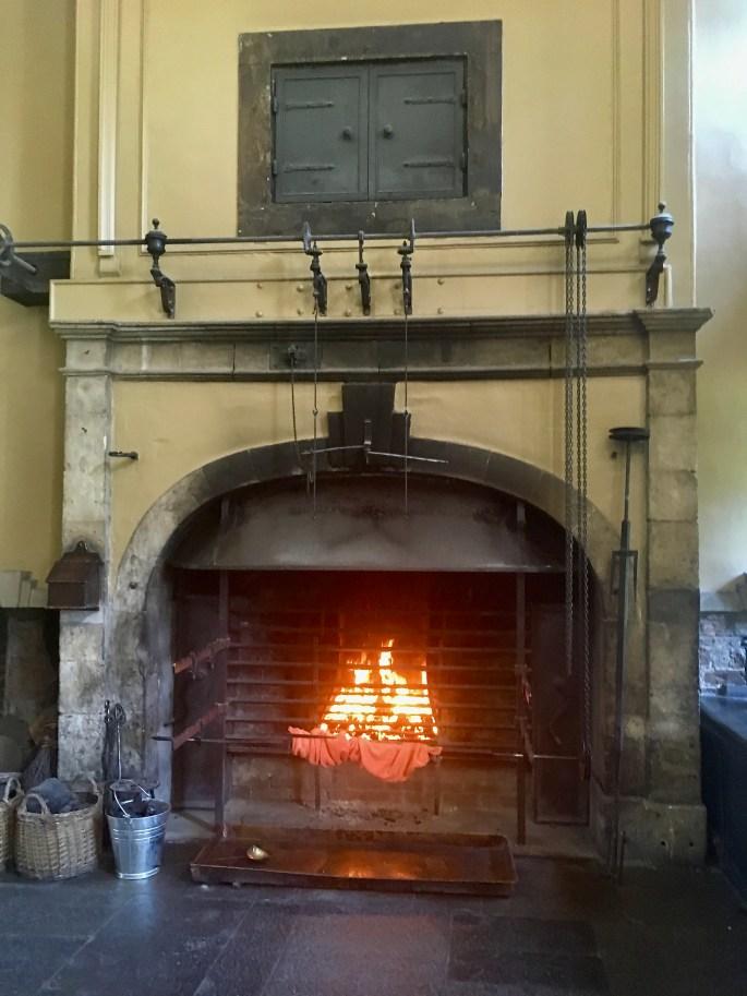 Callendar House kitchen fire by Jez Braithwaite
