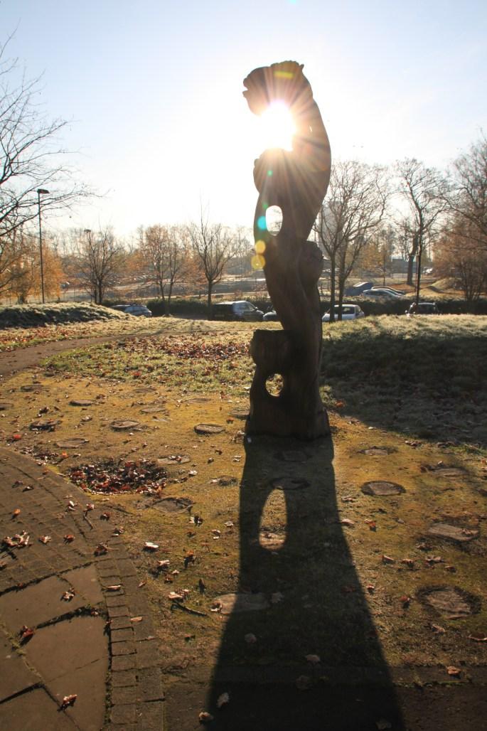 Sunny Sculpture by Jez Braithwaite