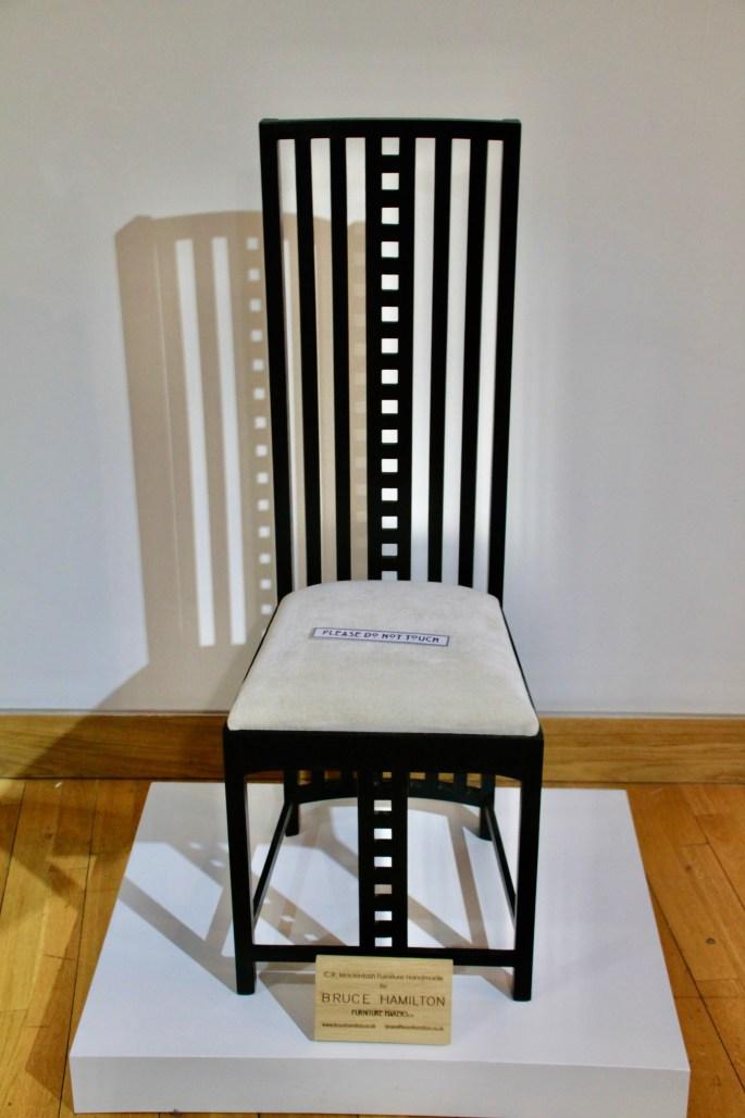 C.R.Mackintosh inspired chair
