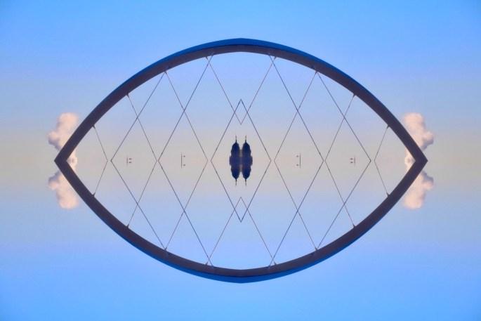 Squinty Bridge - Quad symmetry