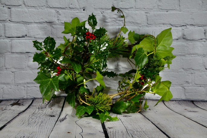 Yuletide wreath