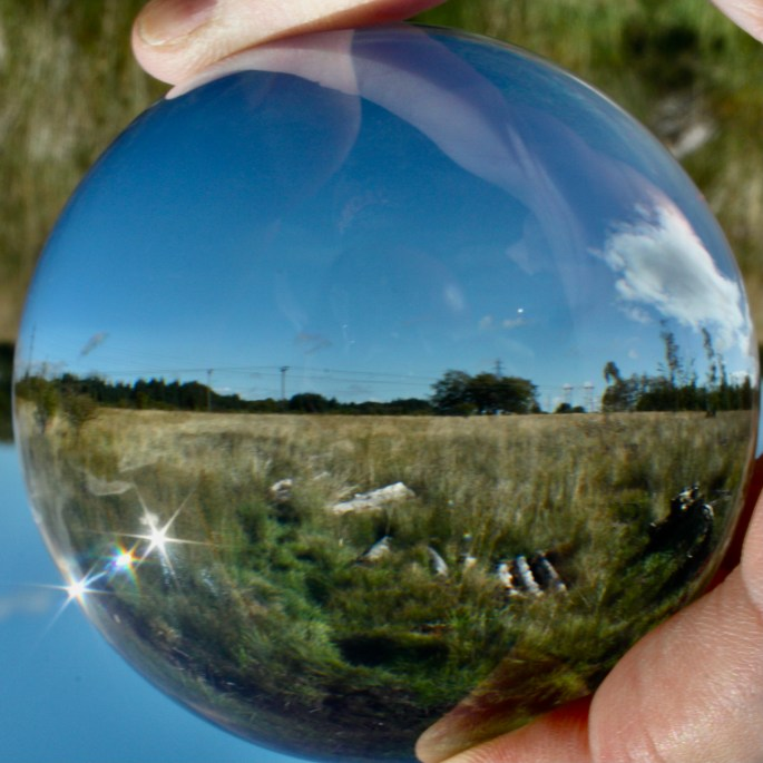 Landscape in a lensball