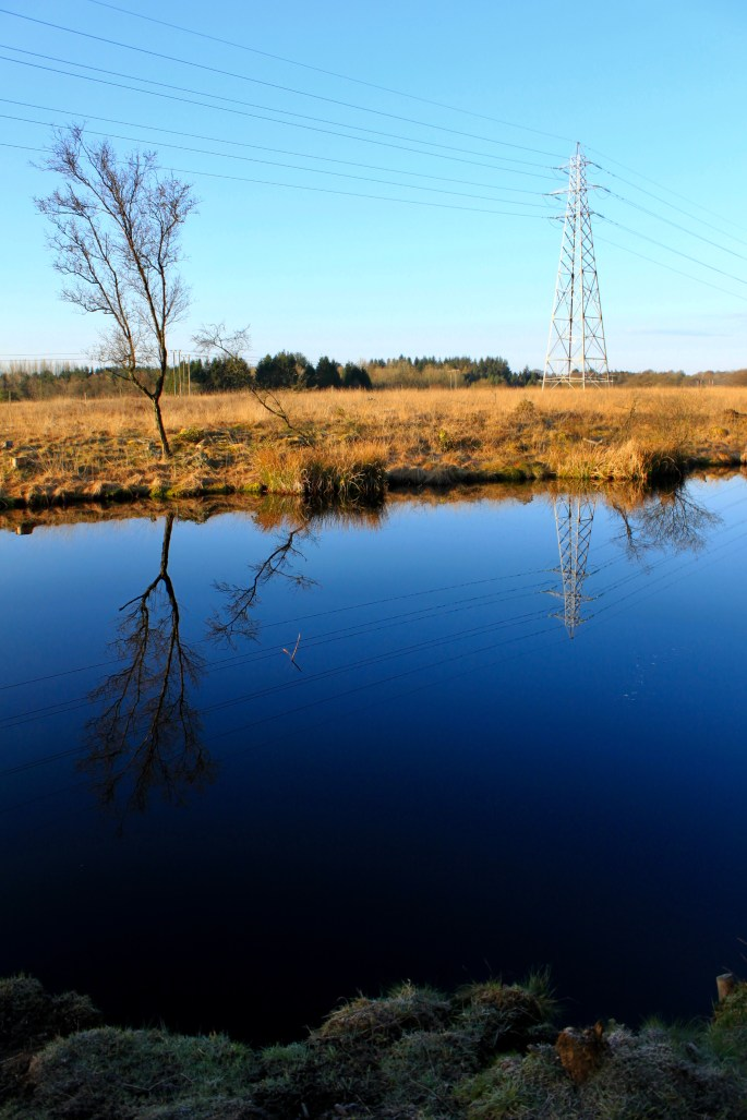 Reflections in a lochan