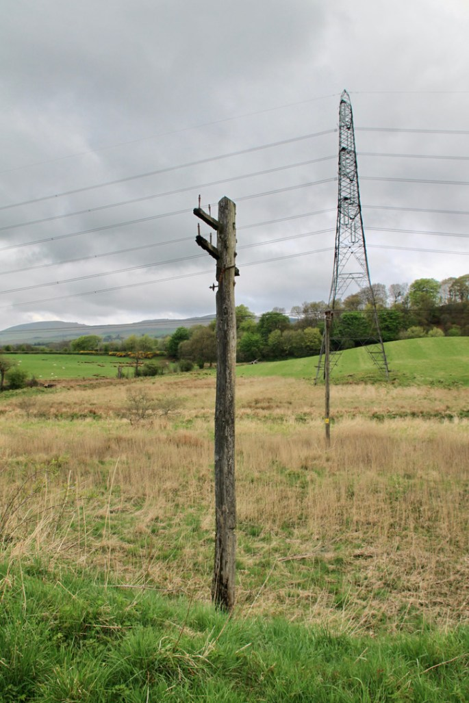 Old & new pylons