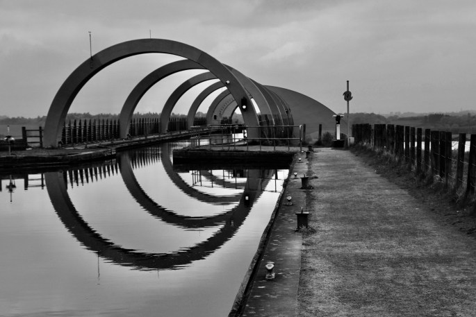 Arches on the Falkirk Wheel