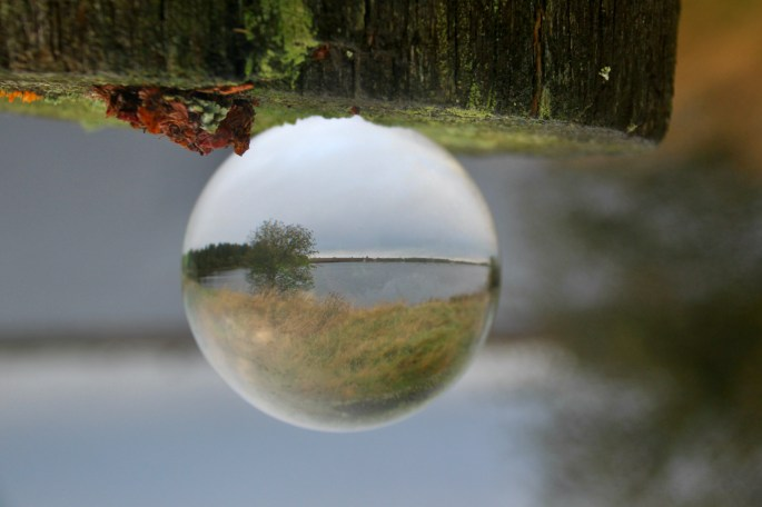 Lensball shot at Fannyside Lochs