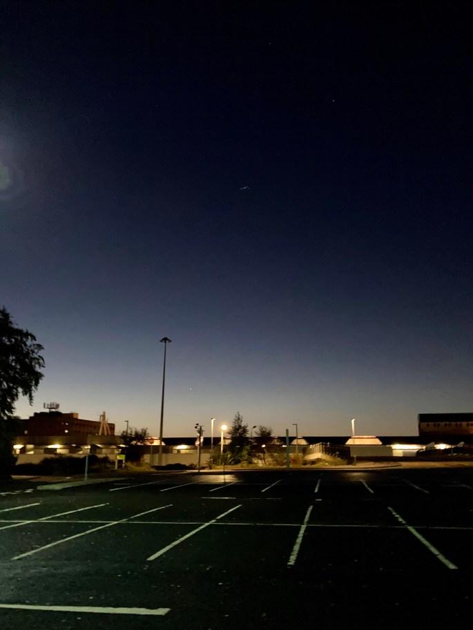 Dawn's ethereal glow