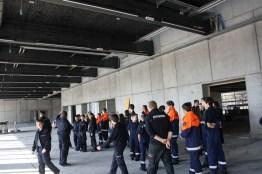 Besuch der Baustelle neues Feuerwehrhaus Lustenau