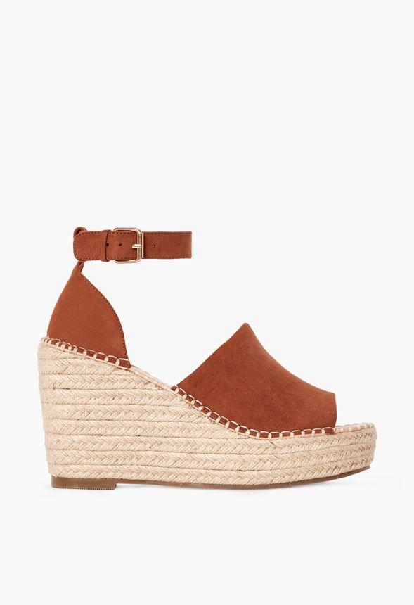 Chaussures Macey En Cognac - Livraison Gratuite Sur JustFab