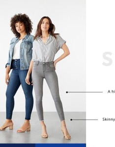 Skinny size guide also justfab rh