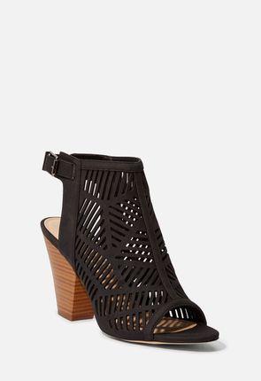 Coral Heeled Sandal