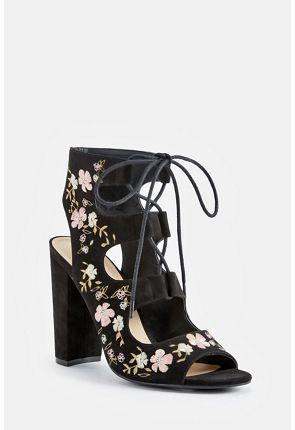 Lizette Heeled Sandal