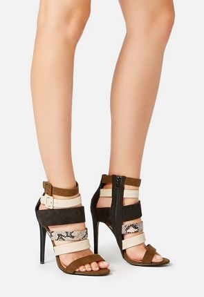 Selinia Strapped Heel