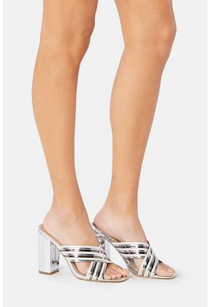 Keiana Mirrored Mule