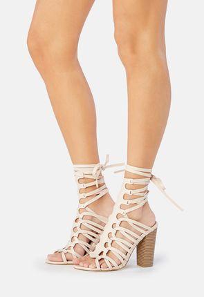 Freesia Strappy Heeled Sandal