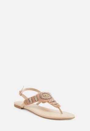 Ensley Beaded Sandal
