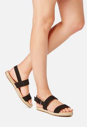 Ariane Double Strap Buckle Sandal