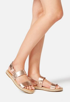 Ariane Double Strap Buckle Sandal