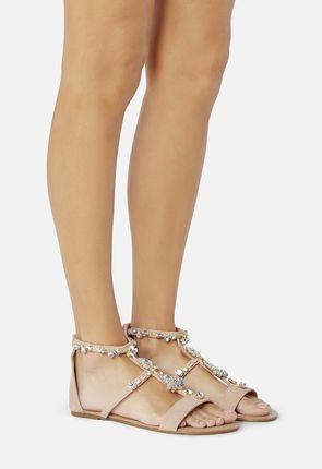 Jewelle Beaded Sandal
