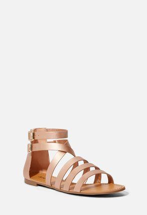 Dhanya Faux Leather Sandal