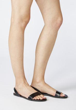 Levourna Slip-On Flat Sandal