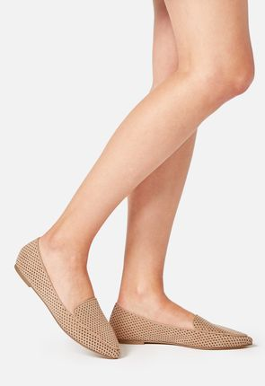 Jolienna Perforated Flat