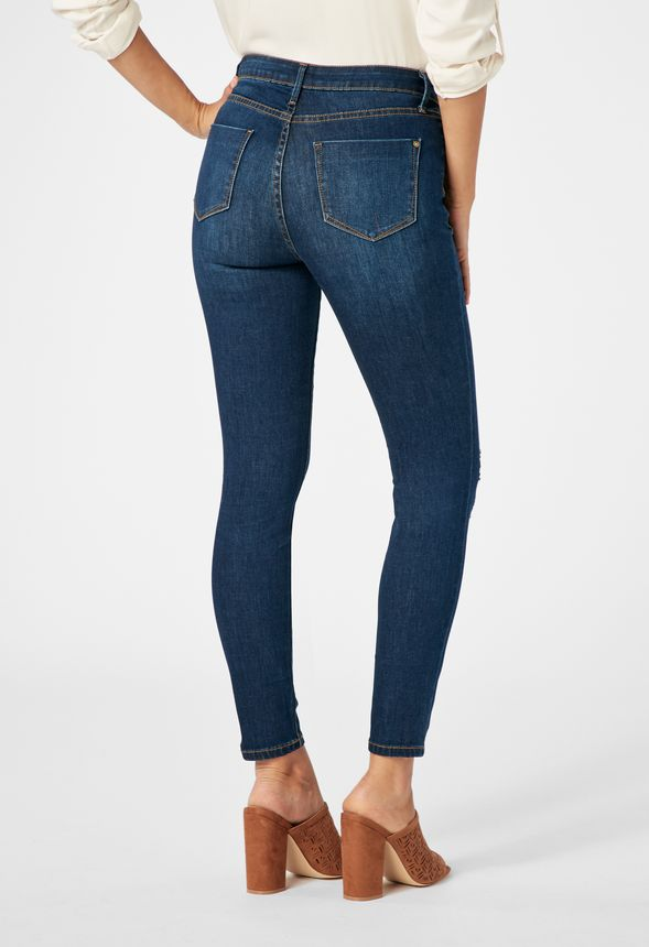 high waisted skinny in